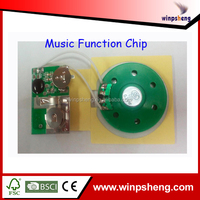sound box module/pre-record music card chip