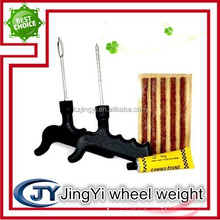 Passenger car plastic handle tire repair tool