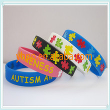 Printed Slogan Bracelet for Cancer Awareness
