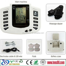 FDA clean TENS massager high quality TENS massager,TENS unit