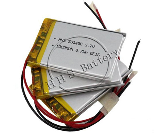 li-ion 3.7v rechargeable lipo lithium polymer battery 301030 60mAh for Intelligent Wearing or Smart <strong>Watch</strong>