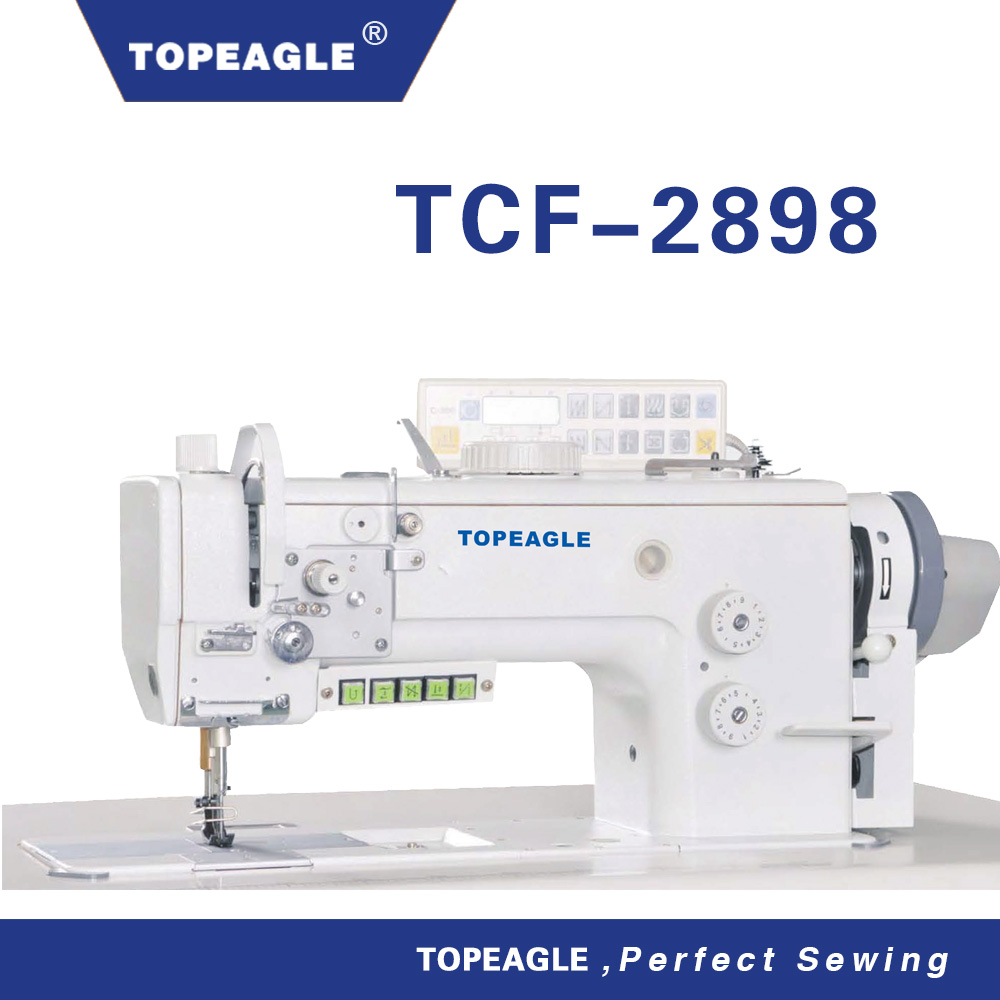 Topeagle TCF-2898 high speed double needle brother sewing machine