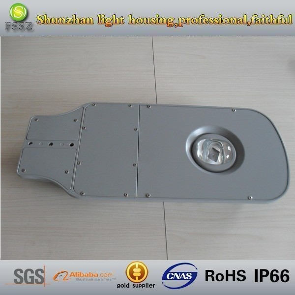 Ip66 80w Aluminium Die Casting Cob Led Street Light Housing/ Outdoor Led Streetlight Shell