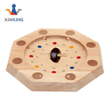 wooden Octagon Tyrolean Roulette by Philos
