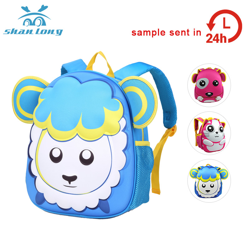 wholesale 3d childrens comic toddler book fashion bags for school