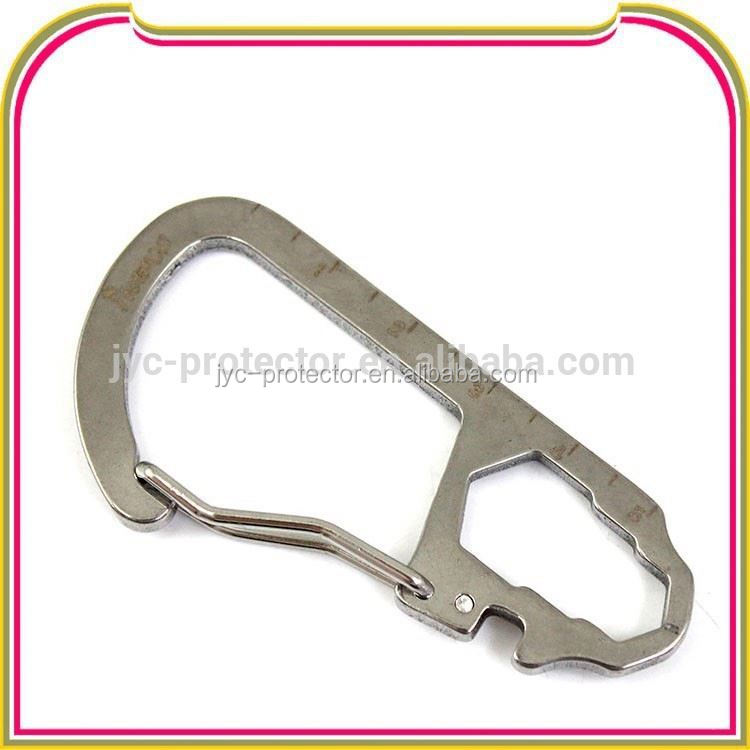 carabiner multi tool ,H0T011 promotion keyring carabiner with index