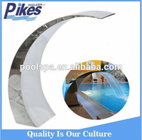 factory manufacture swimming pool waterfall 304/316 stainless steel