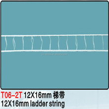 Venetian blind string ladder tape for blinds