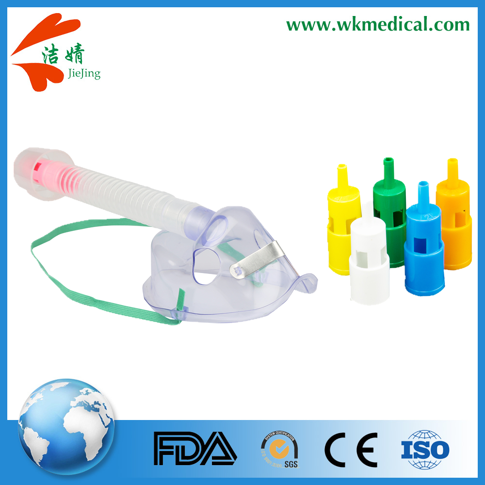 Disposable Oxygen Delivery Air-Entrainment Mask