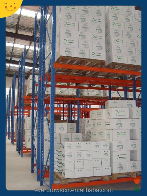 2015 new style for heavy weight goods steel stack racking