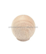 Wholesale keenly priced Natural wooden cabinet knob,wooden handle,wooden ball