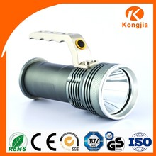 Handheld Search Light Rechargeable HID Element 3 Watt Led Flashlight