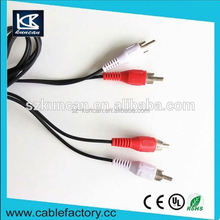 1.8m audio video AV cable female usb to male rca cable for multimedia