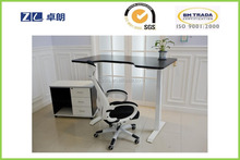 Lifting computer table sit stand automatic by electric
