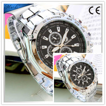 Watch For Men High Luxury Brand Causal Bussiness Watches Quartz Stainless Steel Wristwatches