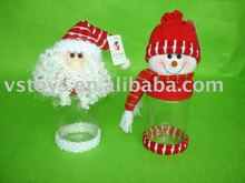 plastic christmas Candy Container