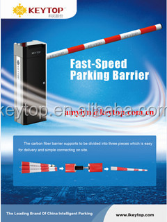 Intelligent Parking Barrier Gates with Speed 1s