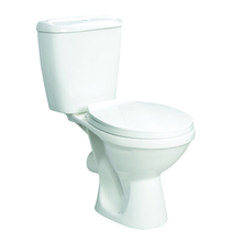 Popular cheap price two piece washdown wc toilet