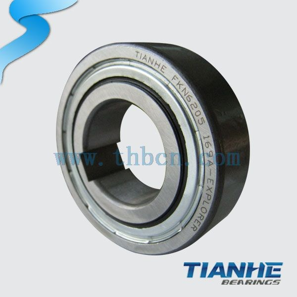 High speed good quality motorcycles bearings FKN 6207 bearings
