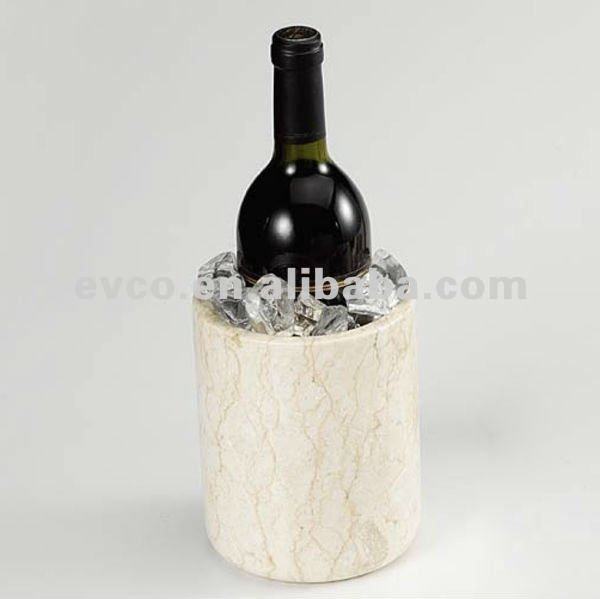 "Champagne Marble 4-7/8"" x 6"" Wine Cooler/Deluxe Tool Holder"