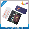 Encai Travel PU Passport Cover With Card Solts Unique Pattern Tickets Passport Holder