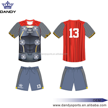 Wholesale customized Thailand Quality soccer jersey grade original quality, sublimation soccer jersey