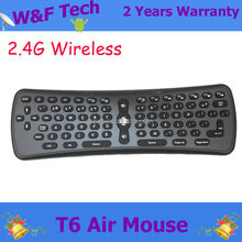 fly air mouse T6 android remote control 2.4g mini wireless keyboard
