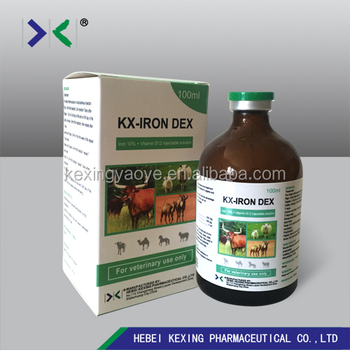 iron dextran injection of 5% /10% /20%