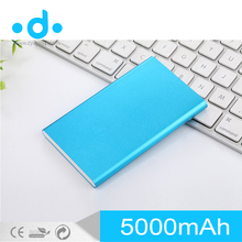 Portable powerbank, 5000mAh slim mobile power bank with indicator for phone X