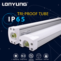 Outdoor tri-proof led tube fixture approved TUV, RoHs, SAA, LCP, ETL, DLC led tri-proof light fixture ip66