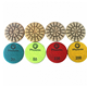 RAIZI 3 Inch TCD transition ceramic diamond abrasive concrete polishing pad