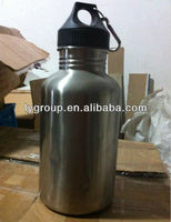 2000ml stainless steel sport bottle,stainless steel water bottle with metal cap,stainless steel 2000ml water container