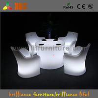 Fashion resturant furniture,plastic dining chairs,portable LED light chairs