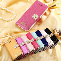 Royal Crown Diamond Magnetic Flip For iphone 5 5s Case