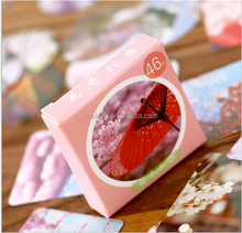 The Japanese flower love box DIY hand sticker label of travel Hand zhang stickers PN6266