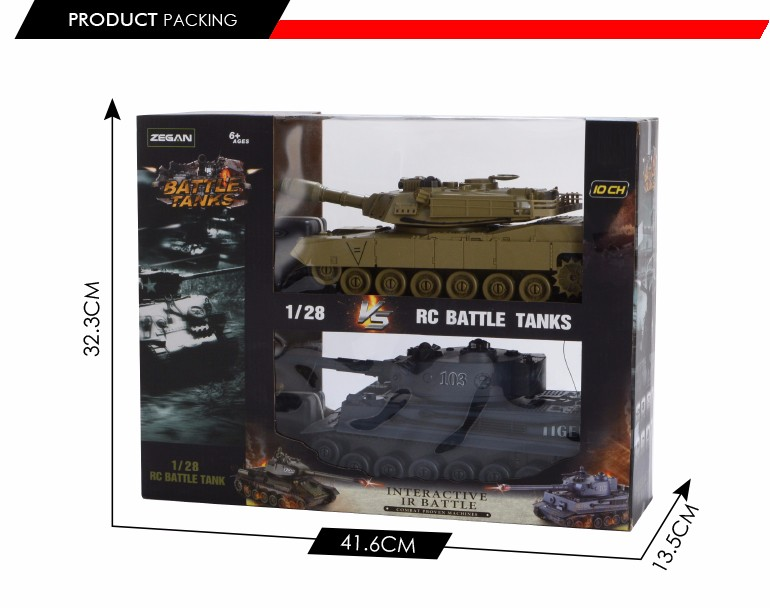 alibaba china 1:28 scale military battle tanks model rc toy with light and music