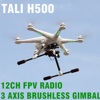 New product TALI H500 5.8GHz 12Ch Quadcopter Helicopter FPV GPS RC Quadcopter BNF china quad copter