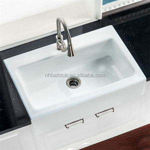 Charmant Enameled Cast Iron Sinks, Enameled Cast Iron Sinks Suppliers And  Manufacturers At Alibaba.com