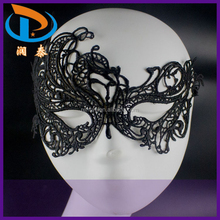 Factory Price Phoenix Shape Women Sexy Lace Eye Masquerade Party Mask