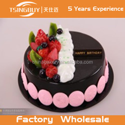 Low price beautiful food grade cake dummy