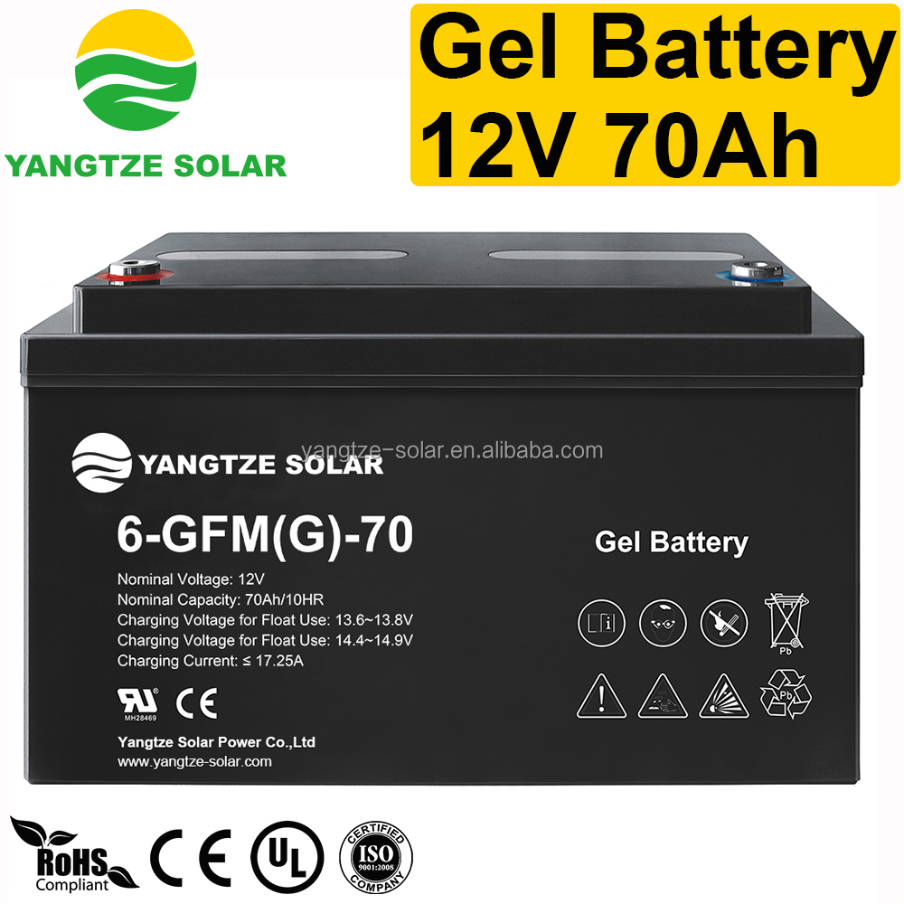 10 years life 12v 70ah 20hr battery