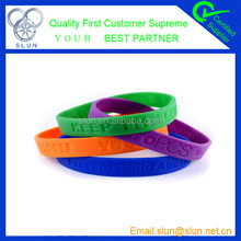 2014 hottest personalize basketball silicone wristband