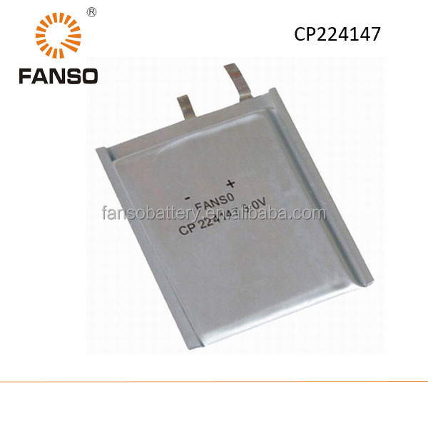 CP224147 3V 800mah lithium Li-mno2 primary battery