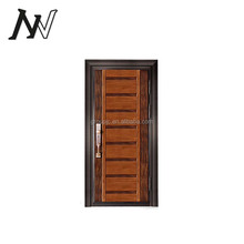 security alarm simple iron gate construction building materials wrought iron keys china steel door low prices