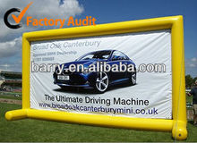 Inflatable advertising signs/ inflatable billboards, ideal for advertising and promotional campaigns