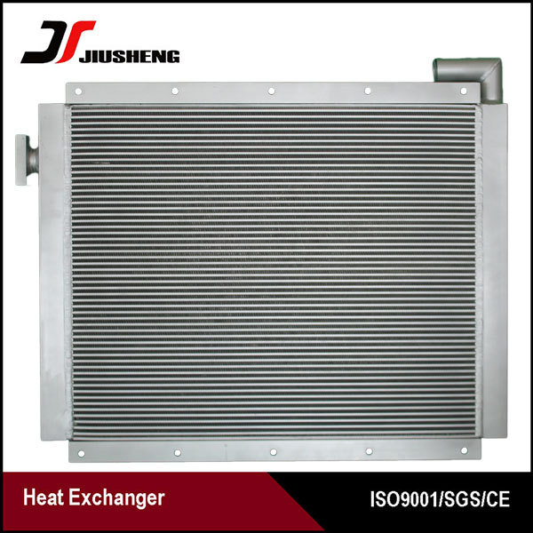 High Performance aluminum bar and plate train radiator