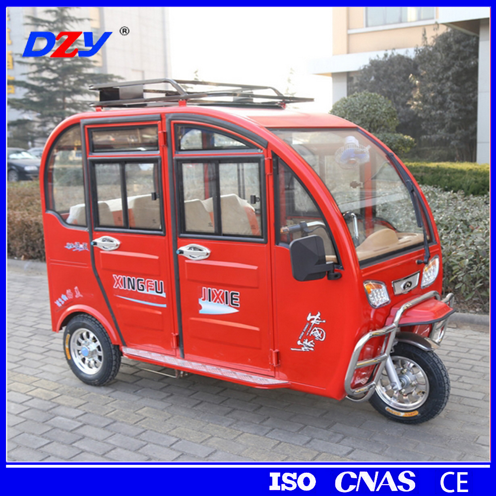 CE/ISO certificate commercial tricycles for passengers/electric tricycle /three wheeler taxi for sale in Europe