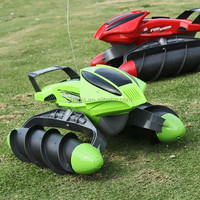 2016 China New Product ! 4 CH Amphibious RC Car Tanks Boat Wigh Light For Kids toy !