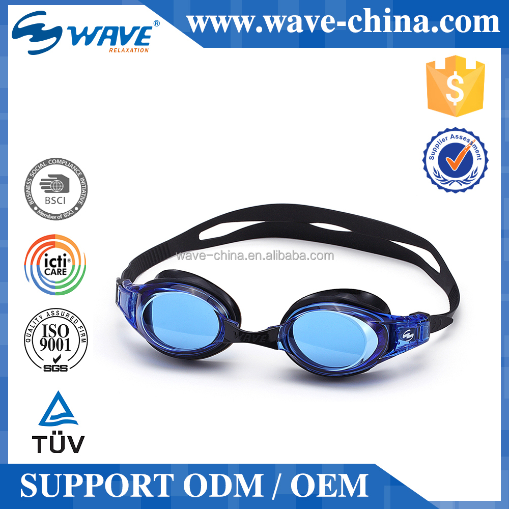 custom printed anti fog goggles for swimming With CE certificates