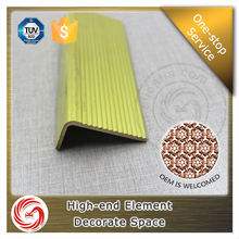 Superior materials anti-slip metal brass stair nosing strips profile